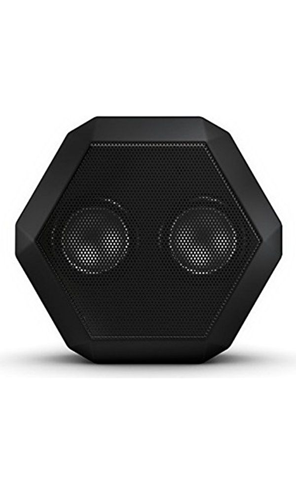 Boombotix Boombot REX Wireless Ultraportable Weatherproof Bluetooth Speaker for iPods Smartphones Tablets and Laptops - Pitch Black (Newest Version) Best Price