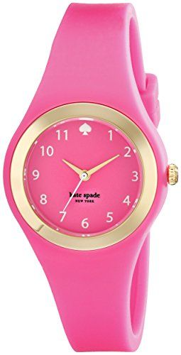 kate spade new york Women's 1YRU0608 Rumsey Pink and Gold-Tone Watch -