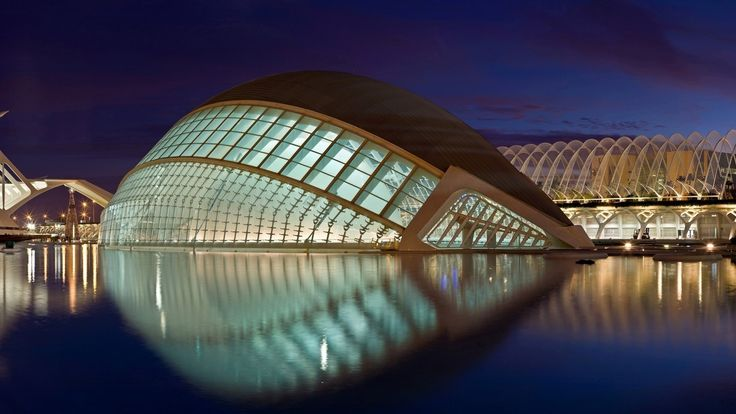 free screensaver wallpapers for city of arts and sciences