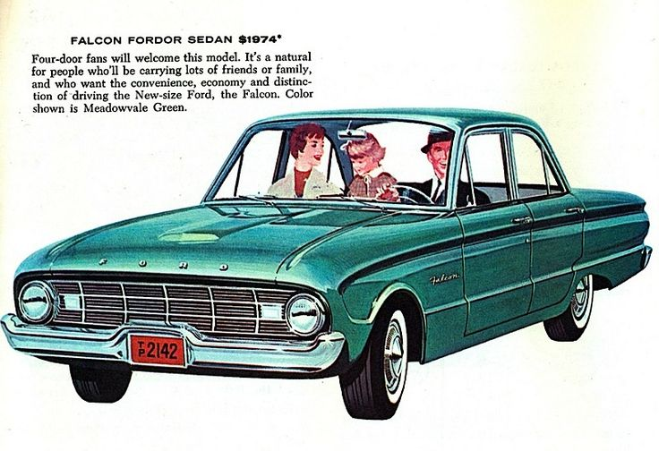 1960 Ford Falcon. So darn cute, and small, we had one!