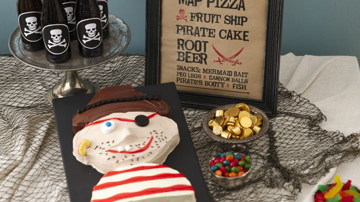 Ahoy, mateys! Swashbuckling good times await all young pirates brave enough to join Betty Crocker's high seas adventure.