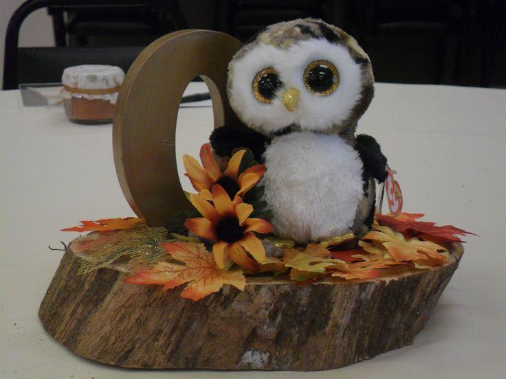 Best 25 owl centerpieces ideas on pinterest owl party woodland baby animal shower owl centerpiece negle Images