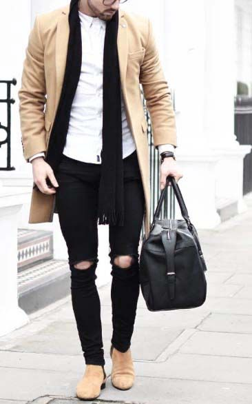 style your day with a gym bag // mens fashion // urban men // gym bag // mens accessories // men // city boys // watches // shoe // camel colour // mens wear // gym day //