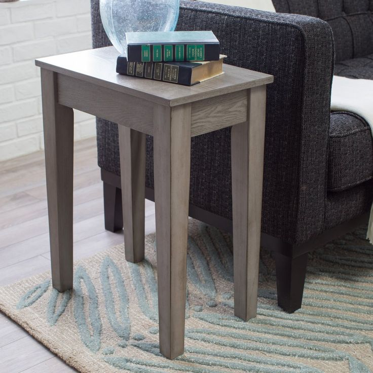 17 Best ideas about Chair Side Table on Pinterest
