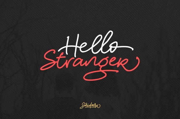 Hello Stranger font