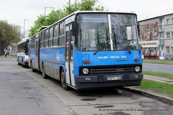BPY-166 Debrecen Helyközi Autóbusz-Állomás 18.04.2012 - Ikarus 280