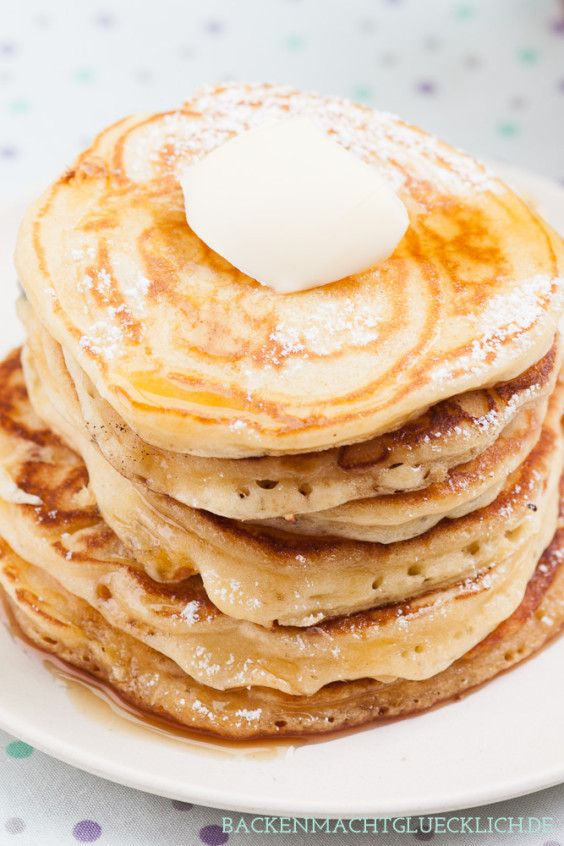 Pancakerezept mit Buttermilch