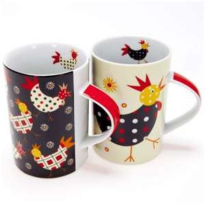 Crazy Chicks Mugs | Chicken Mugs & Cups | Kitchen Mugs | Ceramic Mugs ...: Teas Cups, Crazy Chick, Ceramic Mugs, Ceramics Mugs