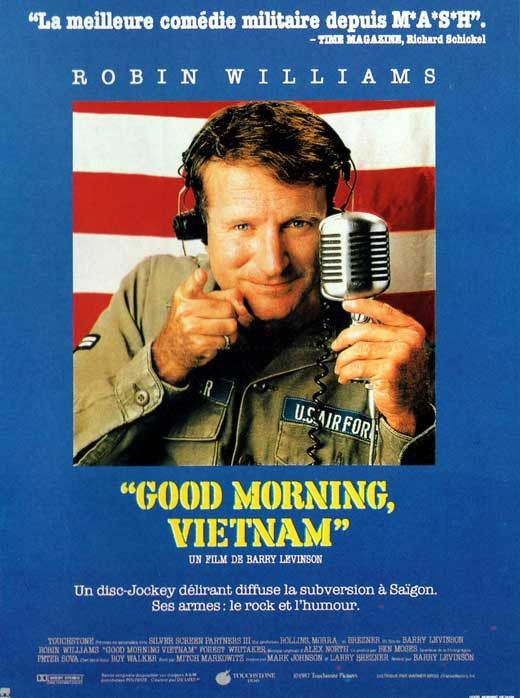 Good Morning Vietnam (French) 11x17 Movie Poster (1987)