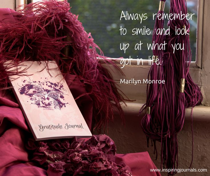 'Always remember to smile and look at what you got in life' Marilyn Monroe #gratitudejournalbutterfly