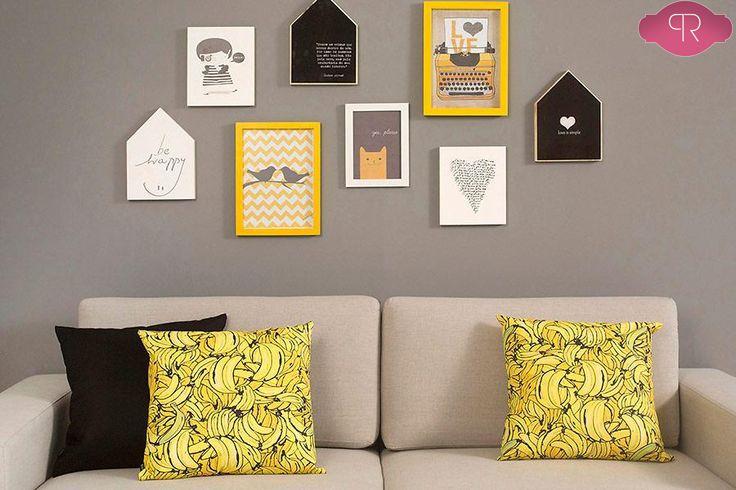 Resultado de imagem para paleta de cores cinza e amarelo
