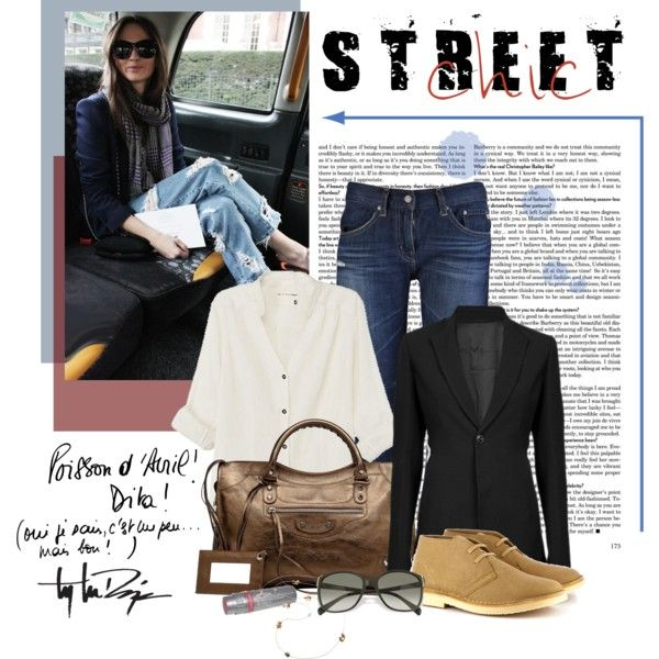 Boyfriend Jeans, created by helenmoses on Polyvore