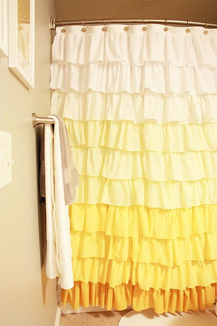 done.: Ruffles Showers Curtains, Kids Bathroom, Color, Shower Curtains, Curtains Tutorials, Sewing Machine, Girls Bathroom, Ruffles Curtains, Cute Showers Curtains