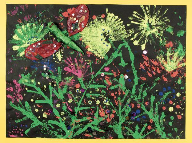 australian flowers art for kids - Google Search