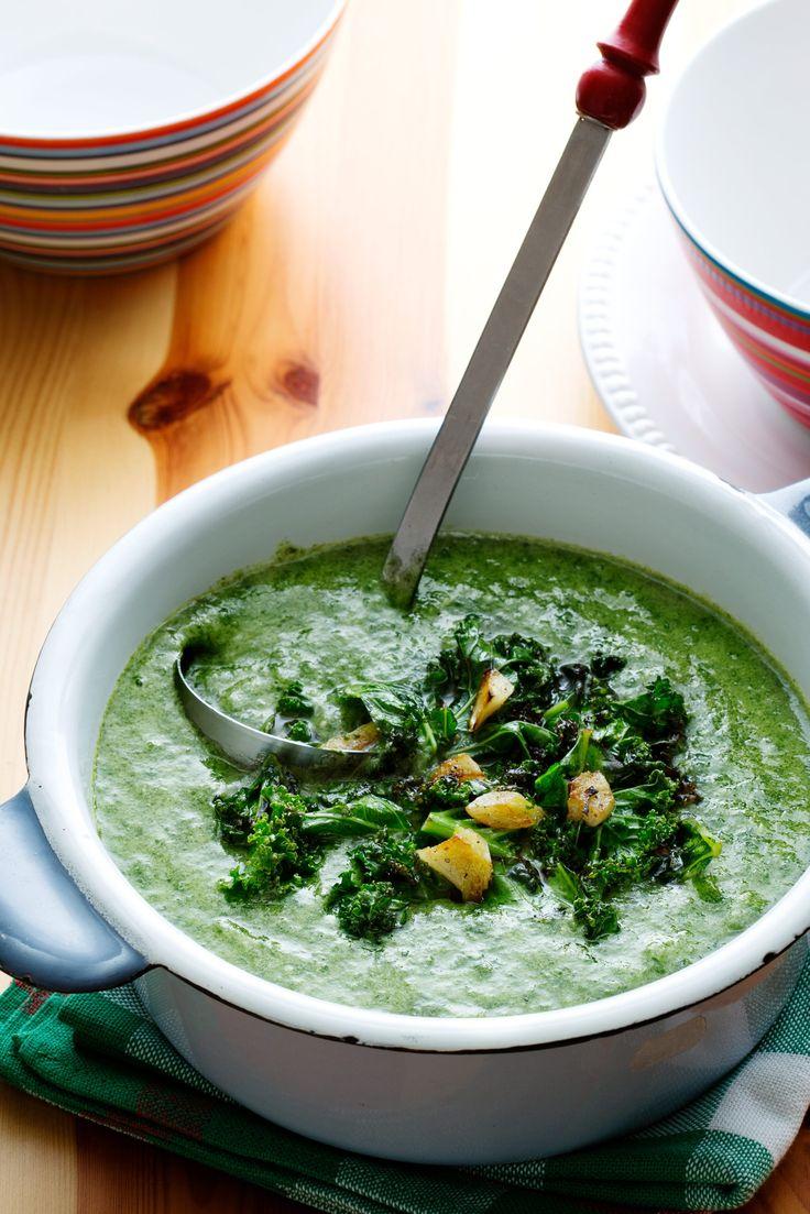 Суп из шпината рецепт с фото