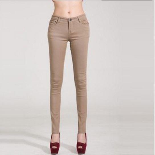 Veselé dámské barevné podzimní džíny kalhoty béžové – Velikost 30 Na tento produkt se vztahuje nejen zajímavá sleva, ale také poštovné zdarma! Využij této výhodné nabídky a ušetři na poštovném, stejně jako to udělalo již …