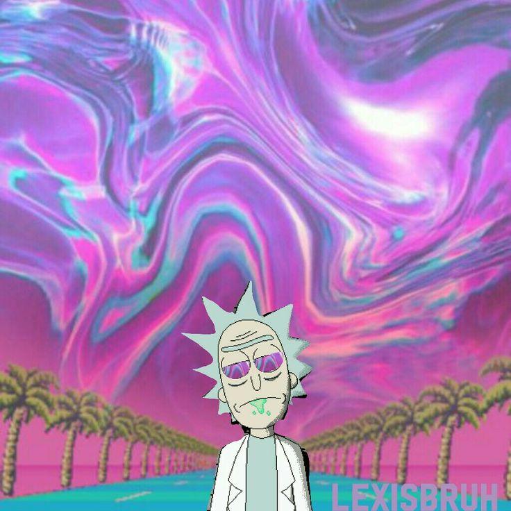Rick And Morty- Rick Sanchez Vaporwave Edit Add Me On