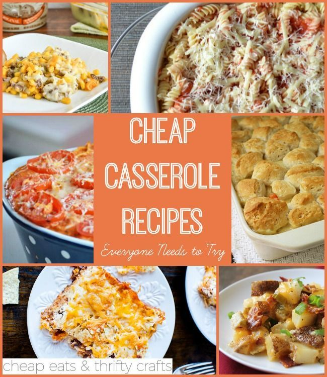 Fast easy casseroles recipes