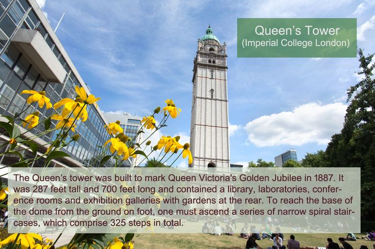 Queen's tower at Imperial College London