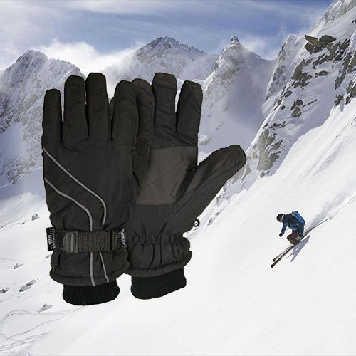 Ski Gloves Windproof Waterproof Snowboard Winter Sports Warm Thick Snow 3 Color #SourceGroup