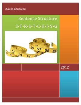 Sentence Structure ActivityEmergent writers tend to write very short sentences and resulting in very choppy writing. This activity provides students with the connecting words and short sentences that they have to expand using the connecting word that makes the sense.