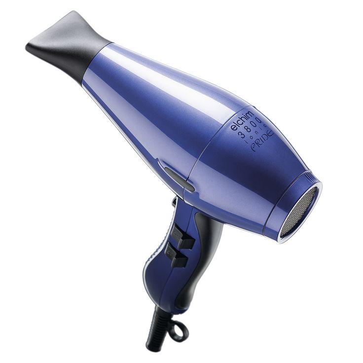 Personal Edge : Elchim EL3800B Ionic Pride Hair Dryer - Blue