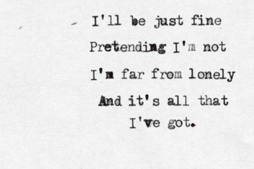 The Used lyrics | All that I've got