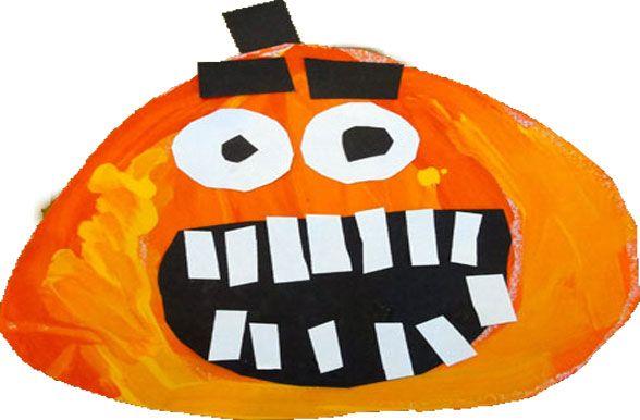 Painted Pumpkin Art Project