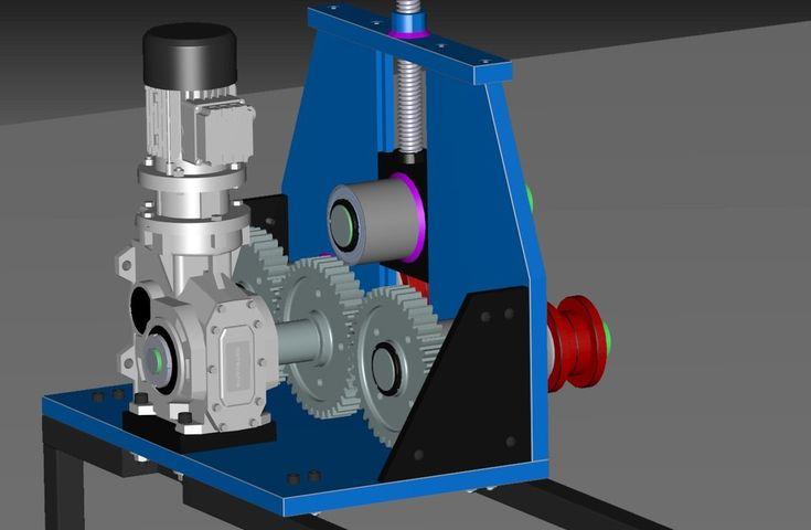 Roll Tube Bender - STEP / IGES - 3D CAD model - GrabCAD