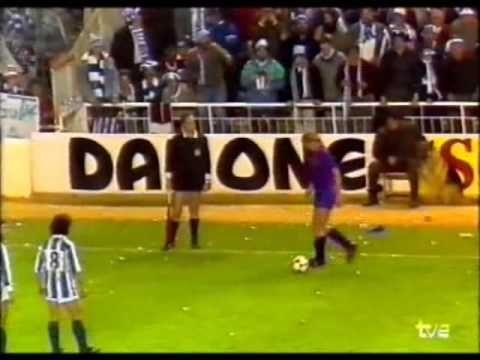 Barça - Real Sociedad 1-0. Final Copa del Rey 1988