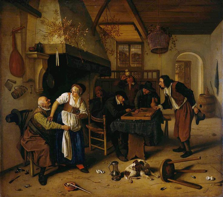 In the Tavern, 1660 - Jan Steen