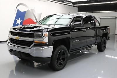 2016 Chevrolet Silverado 1500 LT Crew Cab Pickup 4-Door 2016 CHEVY SILVERADO LT CREW 4X4 LIFT LEATHER 20'S 24K #231796 Texas Direct Auto