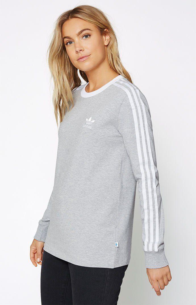 adidas Adicolor 3-Stripes Long Sleeve T-Shirt at PacSun.com