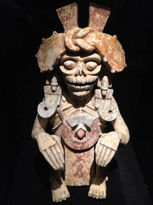 Mictlantecuhtli, the Aztec Lord of the Dead