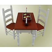 The Queen's Treasures Farmhouse Collection Farm Table & Chairs  for 18'' Dolls like American Girl at Kmart.com