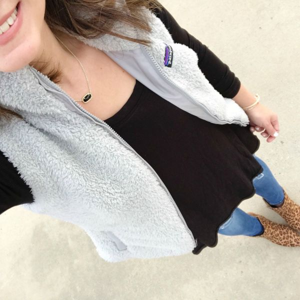 With Style & Grace | Patagonia Fleece Vest