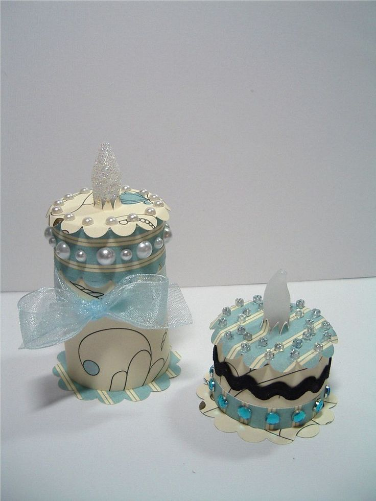 Birthday Cake Box With Candle