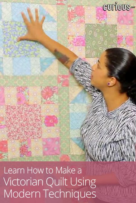 Create a traditional quilt using modern techniques! In this four-lesson quilt-along · Crafty GeminiQuilt TutorialsOakleyLearn ...