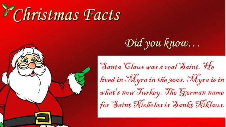 Interesting Christmas facts from around the world, Christmas Fun facts For Kids, Funny Facts About Christmas Tradition And Xmas Songs, Interesting Facts About Santa Claus