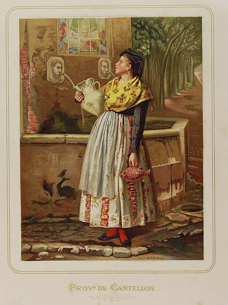 [Mujer de Castellón] (entre 1872 y 1876) - Giménez, M., m. 1884