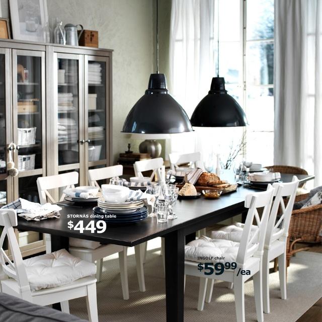Beautiful dinning room