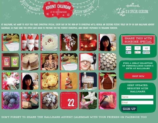 Bespoke videos for Hallmark's 2012 Advent Calendar Campaign  http://advent-calendar.hallmark.co.uk
