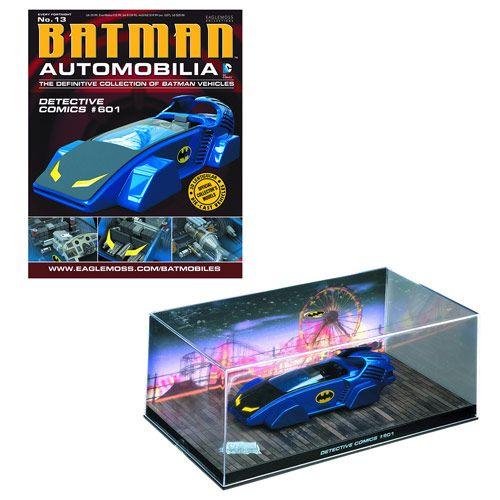 Batman Detective Comics #601 Batmobile & Collector Magazine - Eaglemoss Publications - Batman - Vehicles: Die-Cast at Entertainment Earth