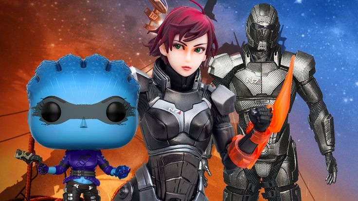 The Best Mass Effect Toys in the Universe - IGN
