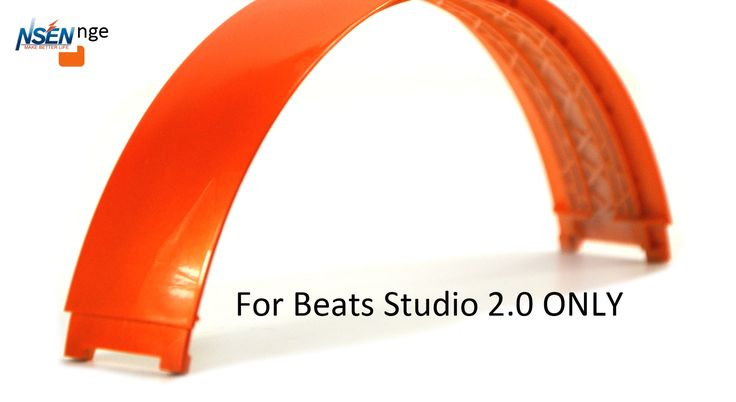 >> Click to Buy << Replacement Top Headband Pad Cushions Repair Part for Beats Studio 2.0 Wired / Wireless Over Ear Headphone (Orange) #Affiliate