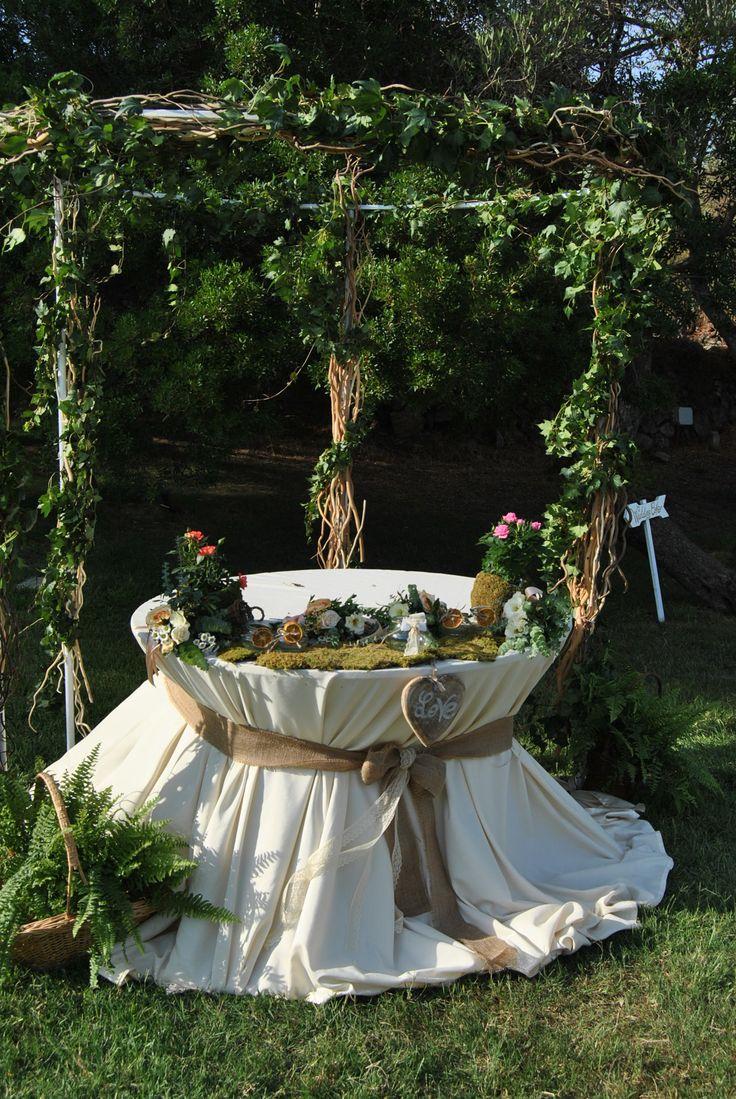Bucolic gazebo Wedding Cake Blog Sara Events | Wedding Planner Sardegna