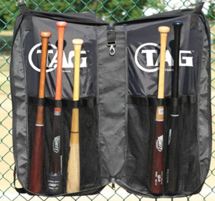 TAG Hangable Baseball and Softball Bat Bag