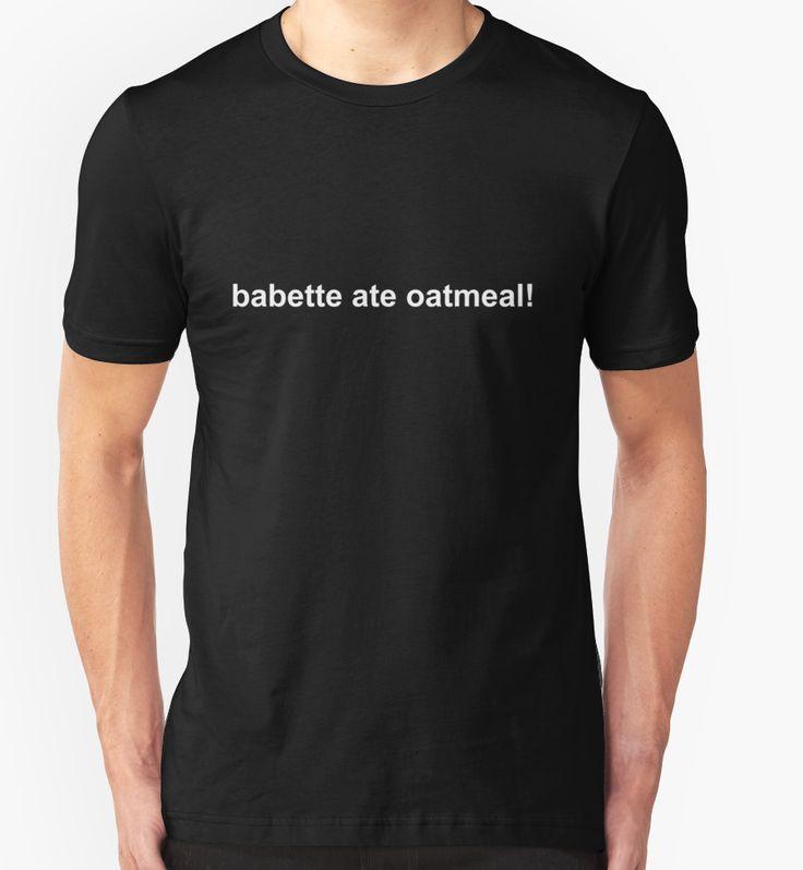 Gilmore Girls - babette ate oatmeal! by fandemonium