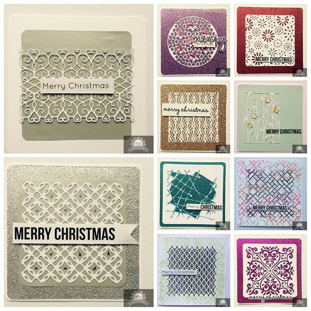 Alison Bevis has been busy creating quick Christmas cards using our Ultimate…