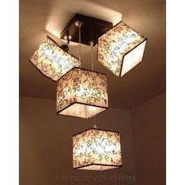 Moderní stropní závěsné svítidlo ABV 213-C4, 4x E27